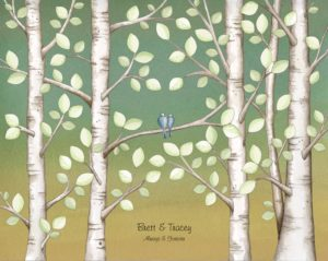 Birches-Always-with-leaves